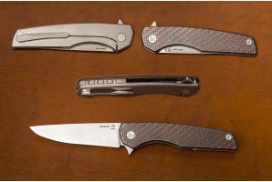 Складной нож S125V №10 карбон