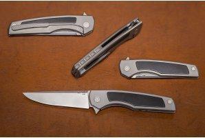 Складной нож M390 №10 2D