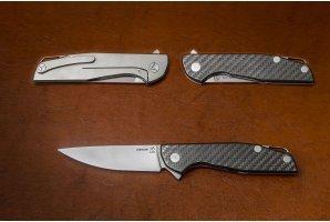 Складной нож Сигма-1 S125V карбон