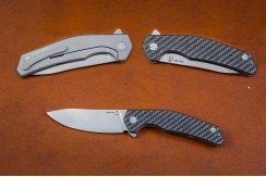 Складной нож S125V №7 карбон