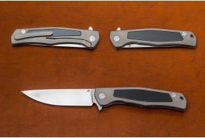 Складной нож S90V №4