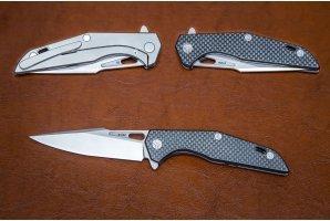 Складной нож S125V №5 карбон