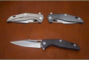 Складной нож Дельта №5 карбон