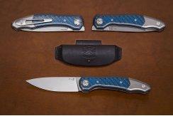 Складной нож 20CV №12